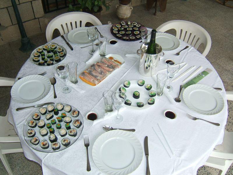 Mes sushis recettes et astuces archive du blog la for Repas simple et convivial entre amis